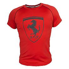 Футболка мужская реплика Puma Ferrari (красный)