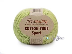 Хлопок Пима FibraNatura Cotton True Sport, Салат №107-05