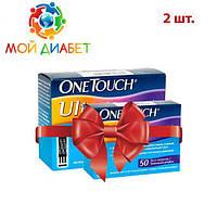 Тест-полоски OneTouch Ultra №50 2 упаковки
