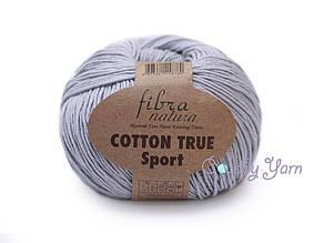 Хлопок Пима FibraNatura Cotton True Sport, Серо-голубой №107-19