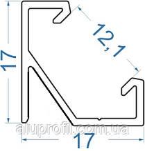 Алюминиевый профиль — светодиодный алюминиевый профиль угловой 17х17