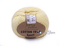 Хлопок Пима FibraNatura Cotton True Sport, Лимон №107-04