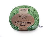 Хлопок Пима FibraNatura Cotton True Sport, Трава №107-06