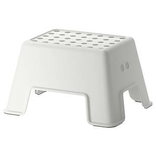 IKEA BOLMEN Детский табурет-подиум, белый  (602.651.63)