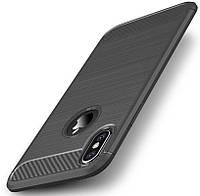Чехол Ipaky TPU Slim для iPhone X Gray (Glv3)