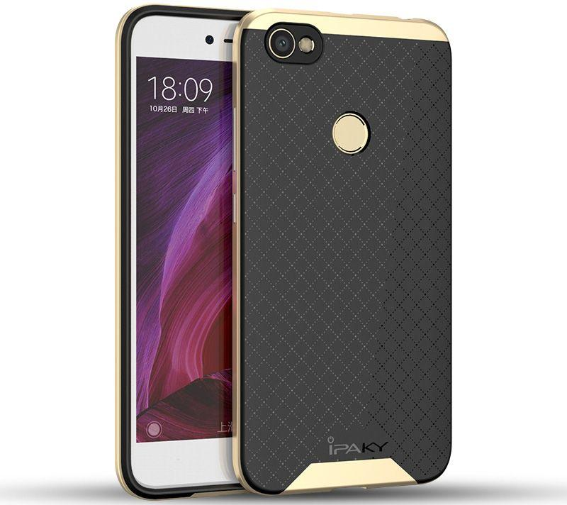 Чехол Ipaky Bumblebee PC Frame with TPU Case для Xiaomi Redmi Note 5A Prime Gold (PCFrame5A)