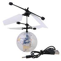 Светящийся летающий шар LED Flying ball (707321356А), фото 1
