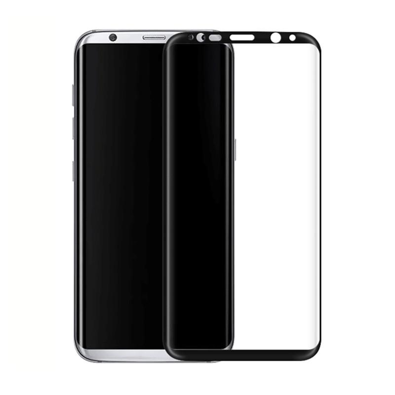 Защитное стекло Glass New 3D для Samsung Galaxy S9 Plus Черный (MB_723329166)