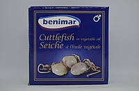 Целые маленькие каракатицы Benimar в масле148 г , фото 1