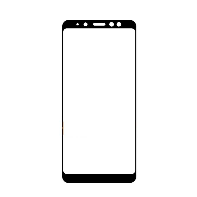 Защитное стекло Glass 3D для Samsung Galaxy A8 Plus 2018 Черный (MB_723330150)