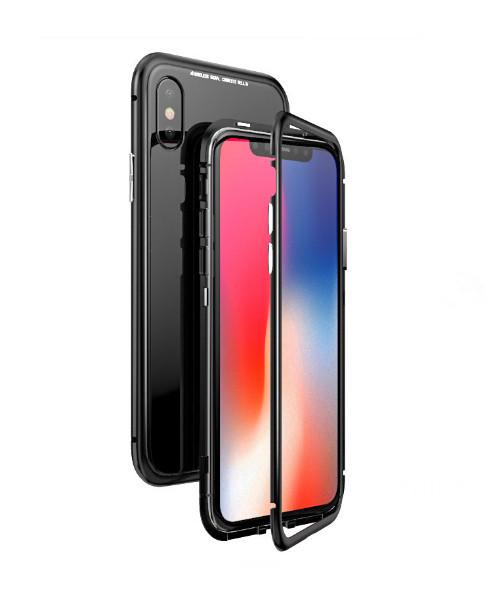 Магнитный чехол Factory iPhonex 6/6S Черный (8889-2)
