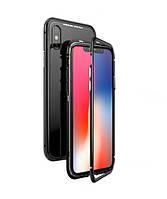 Магнитный чехол Factory iPhonex X Черный (8999-2)