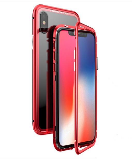 Магнитный чехол Factory iPhonex 6/6S Красный (8889-1)