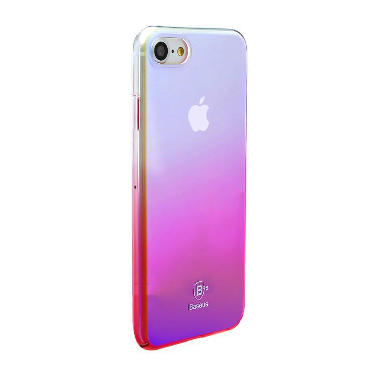 Чехол Baseus Glaze для iPhone 7 Pink (PC-000015)