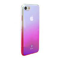 Чехол Baseus Glaze для iPhone 7 Pink (PC-000015), фото 1