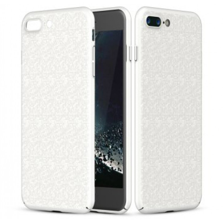 Чехол Baseus Plaid для Apple iPhone 7 Plus /iPhone 8 Plus White (PC-000020)