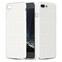 Чехол Baseus Plaid для Apple iPhone 7 Plus /iPhone 8 Plus White (PC-000020), фото 1