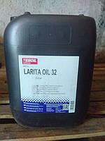 Гидравлическое масло Teboil Larita Oil 32 (20л.)