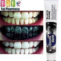Dontodent Black Shine зубная паста с активированным углем 75 мл Германия