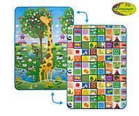 Коврик двусторонний Limpopo Большая жирафа и Красочная азбука 120х180 см (LP012-120)
