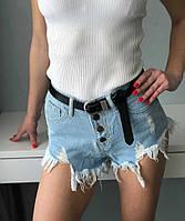 Женские шорты с бахромой