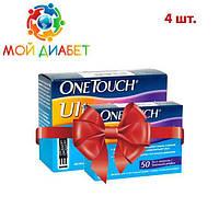 Тест-полоски OneTouch Ultra №50 4 упаковки
