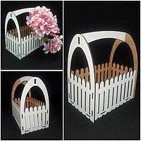 Ящик для декора из двп, 20х16х12 см., 75/65 (цена за 1 шт. + 10 гр.), фото 1