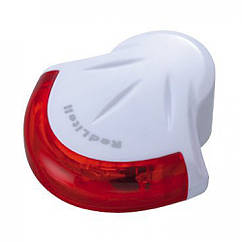 Мигалка задняя диод. Topeak RedLite II, 4 красных диода, 2 функц., с батареей., 20г, белый