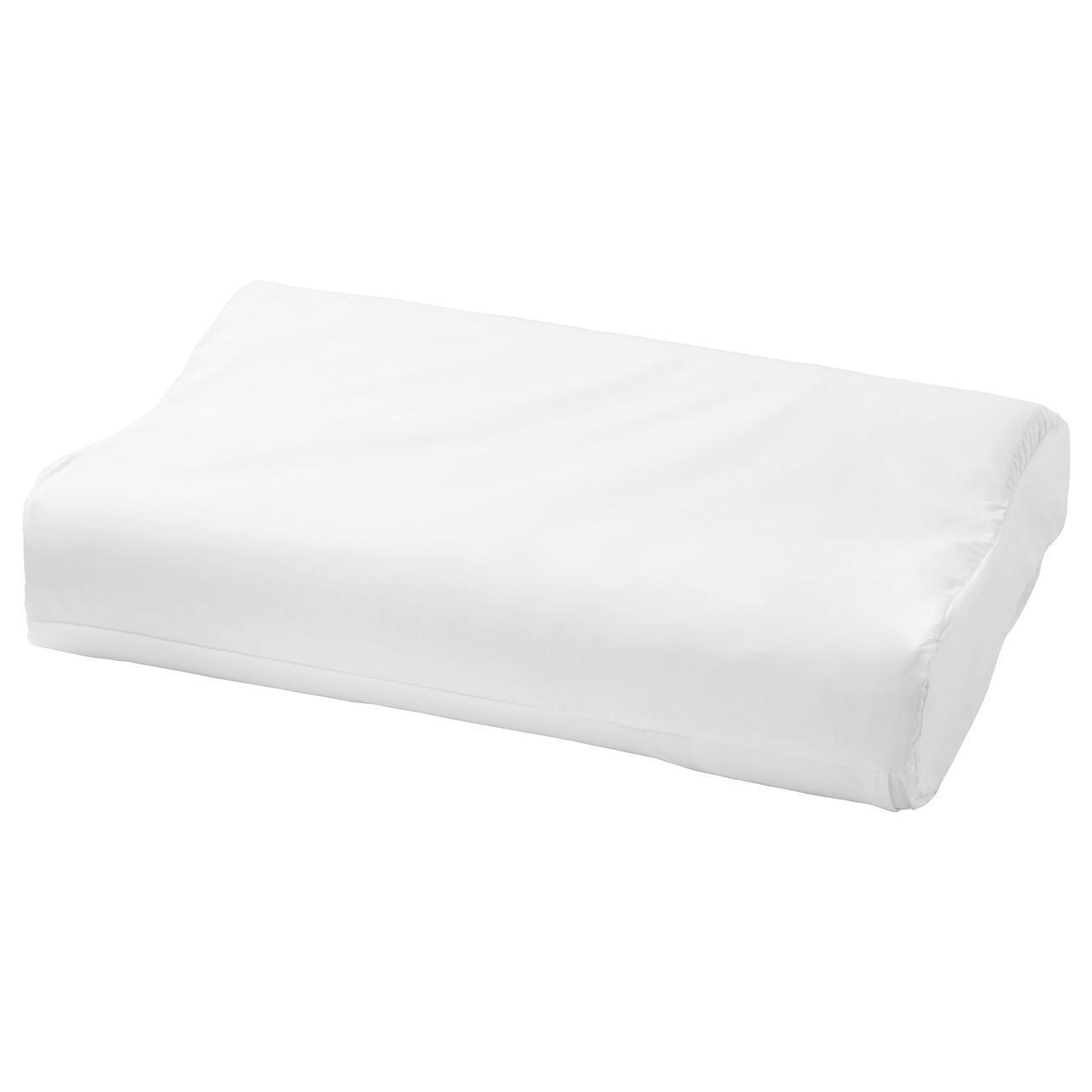 IKEA ROLLEKA Наволочка для подушки с пеной памяти, белый  (203.374.83)