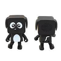 Портативная музыкальная танцующая колонка Bluetooth в виде робота. Танцующий робот собака DOG Int