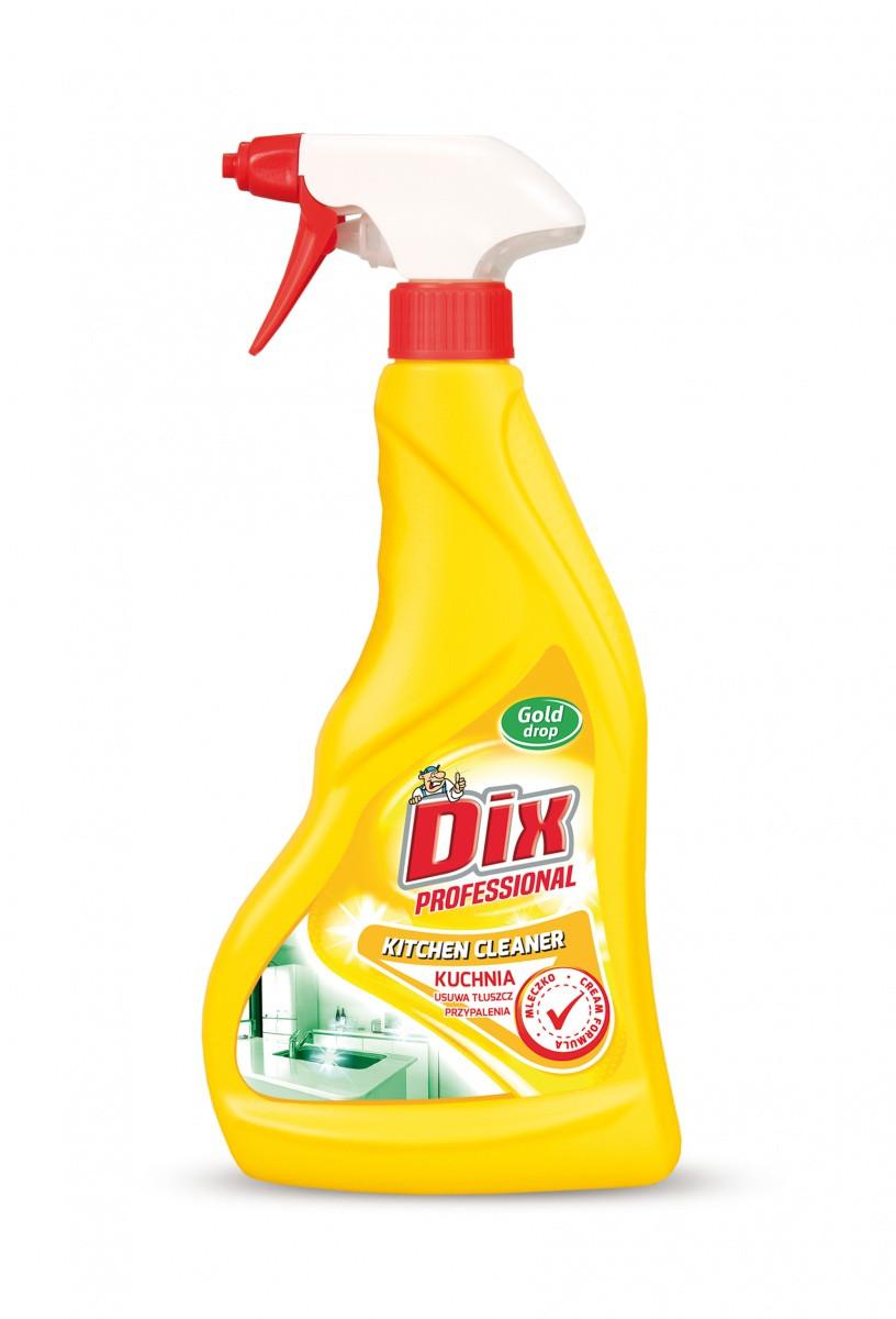Молочко для очистки кухни Dix с распылителем 500 мл
