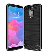 Чехол силиконовый  TPU на LG K8 2017 / X240 черный
