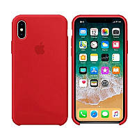 Чехол Silicone Case для Apple iPhone X Red (MB_723334050), фото 1