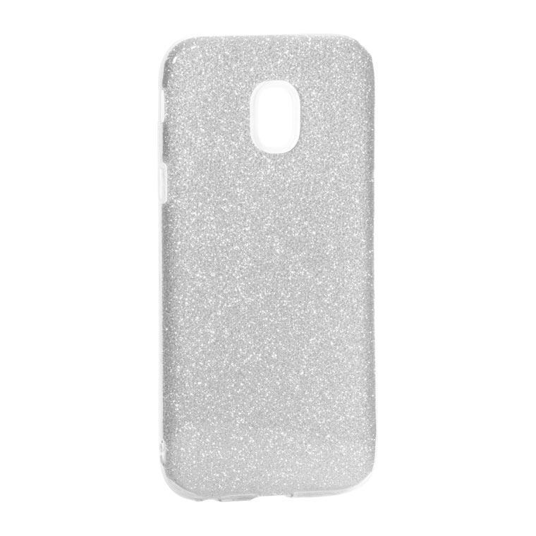 Чехол силиконовый Shine Samsung J3 2017 J330 Серебристый (31475)
