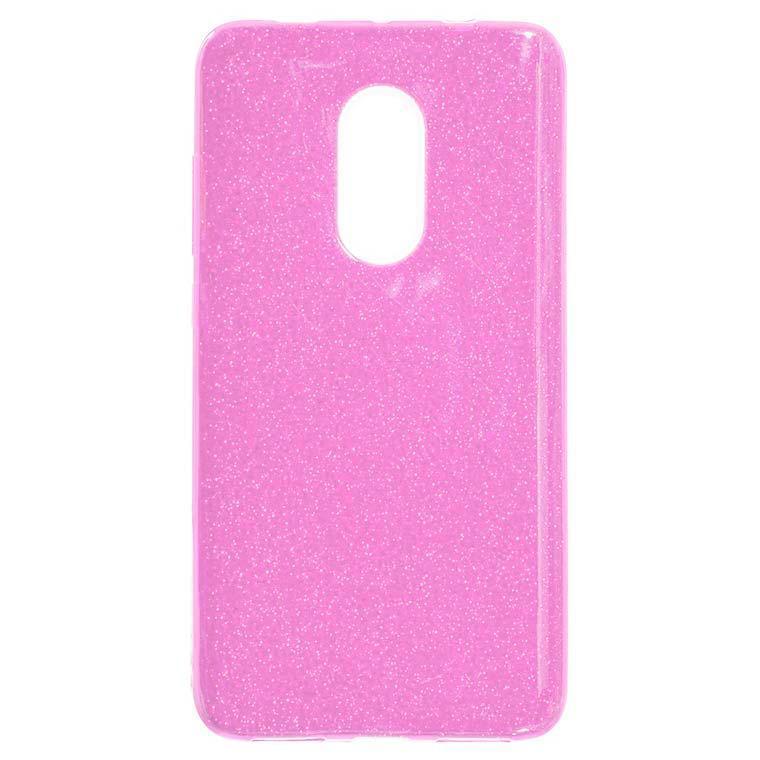 Чехол силиконовый Shine Xiaomi Redmi Note 4x Розовый (31413)