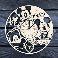 Детские часы на стену «Микки Маус», фото 1