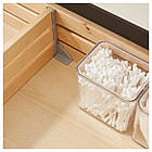 IKEA GODMORGON/ODENSVIK Шкаф под умывальник с раковиной с 4 ящиками, глянцевый белый  (591.854.69), фото 3