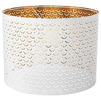 IKEA NYMO Абажур, белый, латунь цвет  (103.772.19)