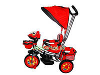 Велосипед детский трехколесный Panda красный, фото 1