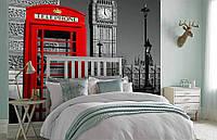 Флизелиновые Фотообои Лондон от производителя за 1 день. Любая картинка и размер. ЭКО-обои