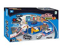 """Паркинг игрушечный """"six-six-Zero: Полиция"""", 40 элементов"""