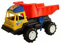 """Большая машинка грузовик """"Даф"""" (с лопаткой и грабельками)"""