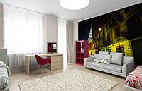 Флизелиновые Фотообои Ночная улица от производителя за 1 день. Любая картинка и размер. ЭКО-обои