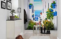 Флизелиновые Фотообои Улицы Крита от производителя за 1 день. Любая картинка и размер. ЭКО-обои