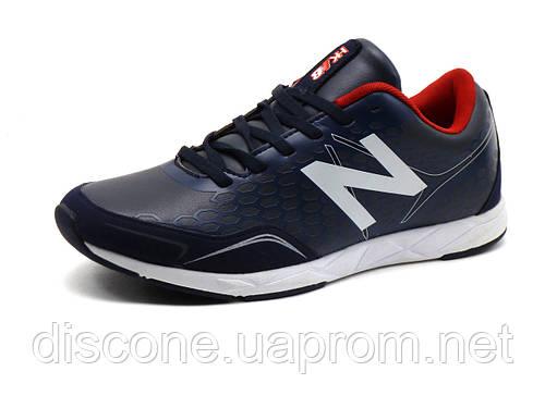 Кроссовки New Balance унисекс, комбинированные, темно-синие