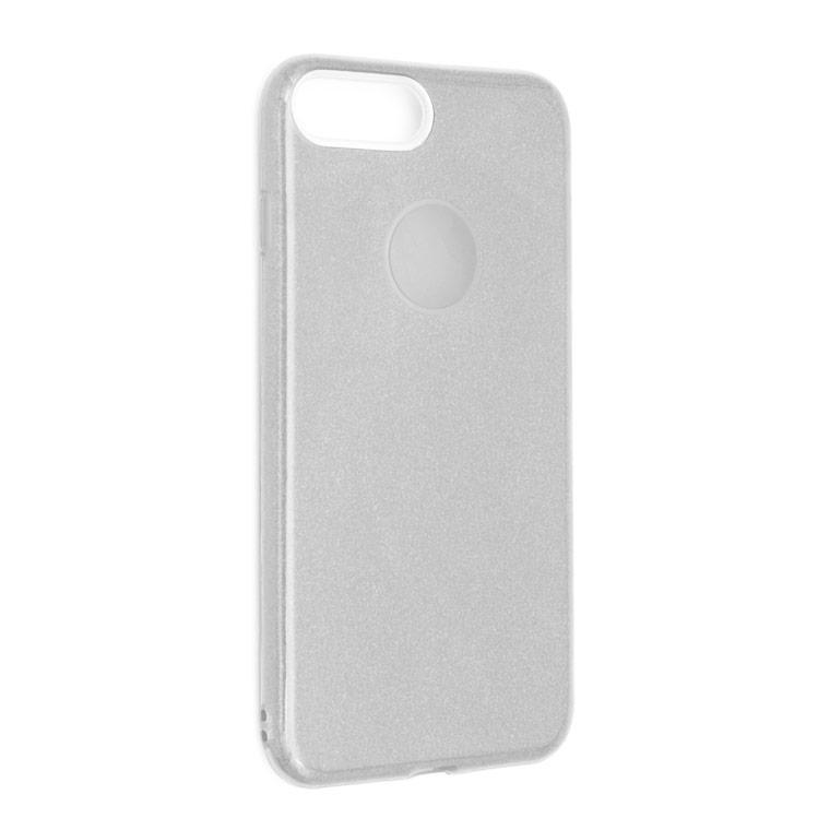Чехол силиконовый Shine iPhone 7/8 Cеребристый (31259)