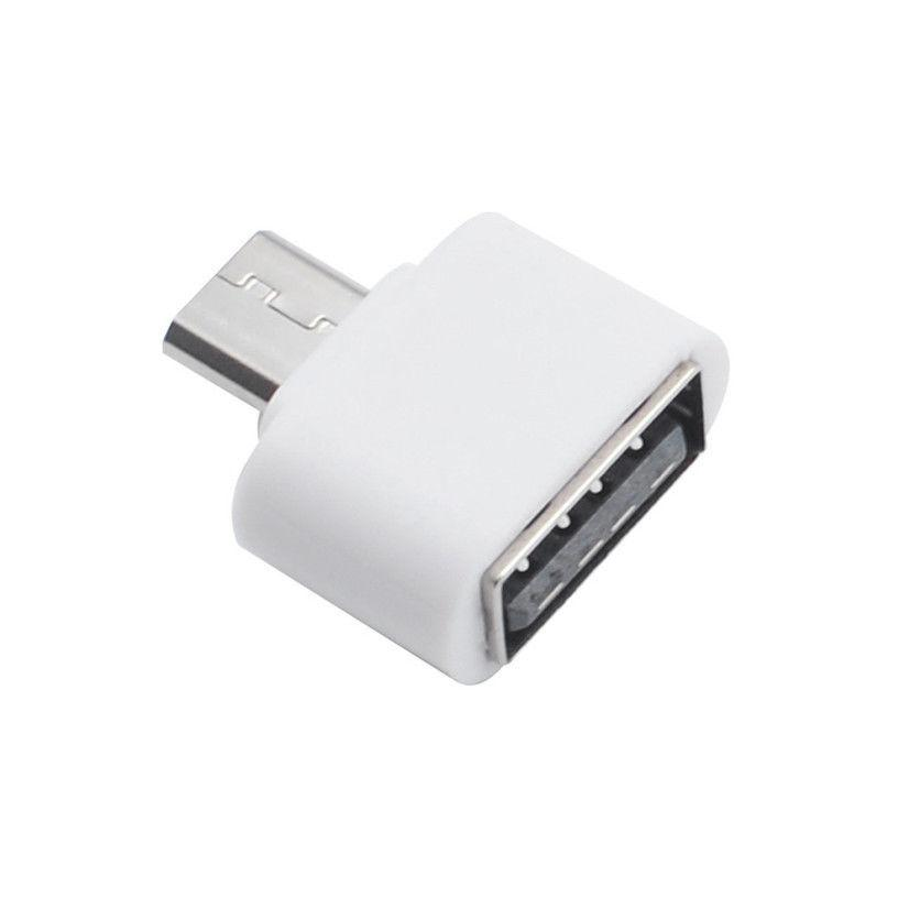 OTG переходник micro USB Long №19