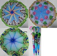 Зонтик детский БенТен Игрушки 031-1 полиэстер ткань купол 80см