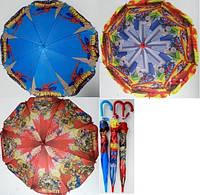 Зонтик детский Трансформеры Спайдермен 031-2 полиэстер ткань купол 80см