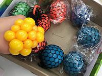 Лизун мяч SH1203 в сетке 7см анти стрес